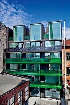 architecture norway | Housing, Korsgata 5, Oslo