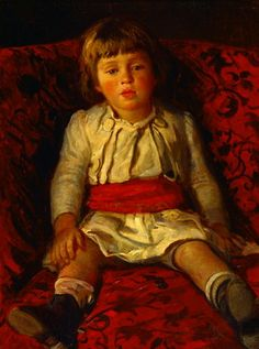 Portrait of Nikolay Ge, the Artist's Grandson, 1889  Nikolai Ge