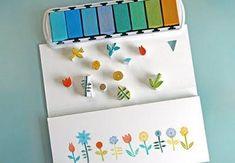 Diy Stamps w/Craving tool. Diy Stamps, Homemade Stamps, Homemade Cards, Cute Diy Projects, Craft Projects, Craft Ideas, Make Your Own Stamp, Eraser Stamp, Stamp Carving