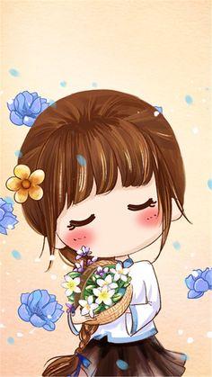 小薇的世界...来自Ru花般绽放的图片分享-堆糖 Kawaii Chibi, Cute Chibi, Kawaii Cute, Kawaii Girl, Anime Chibi, Kawaii Wallpaper, Cartoon Wallpaper, Anime Art Girl, Manga Girl