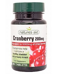 Natures Aid Cranberry Extract 120 Tablets Extra Value Pack
