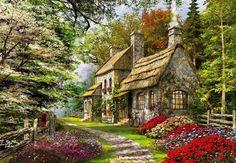 Carnation Cottage (315 pieces)