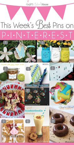 The Best Crafts and Recipes on Pinterest
