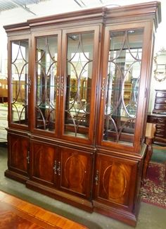 Marvau0027s Place Hign End Used Furniture U0026 Consignment Store | Thomasvilleu2026 China  CabinetsGlass ...