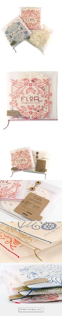 Flor: Tortilla Packaging (Student project) by Triana Thompson. #package #design #packaging #retro #cool