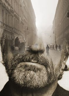 Photography merging portraiture and landscapes by Antonio Mora - Made In Slant Surreal Photos, Surreal Art, Surreal Portraits, Creative Photography, Portrait Photography, Deep Photos, Double Exposition, Double Exposure Photography, Multiple Exposure