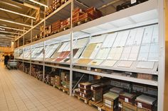 High racking displays - Google Search
