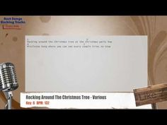 Rocking Around The Christmas Tree - Various Vocal Backing Track with chords and lyrics