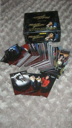 MICHAEL JACKSON PANINI 2011 ORIGINAL 190 RED CARDS FULL SET+EMPTY BOX NO PROMO