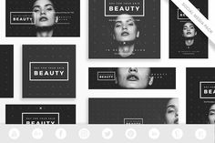 Social Media Pack | Your Skin Beauty  @creativework247