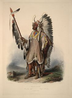 Karl Bodmer Travels in America (46) - Mato-tope - Wikipedia