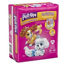 Huggies PullUpsreg; Training Pants with Learning Design for Girl 3T4T Jumbo Pack  23 Count