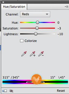Elements Tutorial:  Adjust Individual Colors Easily