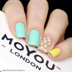 nails summer colors Check out the lovable, quirky, cute and exceedingly precise summer nail art designs that are inspiring the freshest summer nail art tendencies and inspiring the most well liked summer nail art trends! Love Nails, How To Do Nails, Pretty Nails, Nail Manicure, Diy Nails, Geometric Nail, Stamping Nail Art, Creative Nails, Perfect Nails
