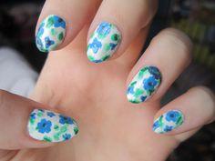 beautiful nails, floral nail art, floral prints, floral prints on your nails, hottest nail art, How To Do A Floral Nail Art, How To Do Floral Nail Art, Nail art, nail polish, nails, What You Need For Making Floral Nail Art