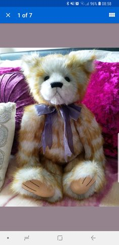 Townend The Fox Excellent Quality Manufactured Charlie Bears Dolls & Bears