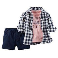 Baby Boy Carter's Tee, Shirt & Shorts Set