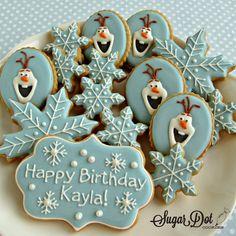 Sugar Dot Cookies: Frozen Sugar Cookies