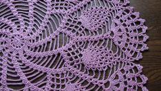 Tapete ganchillo tapete rosa tapetito hecho a mano encaje doilie tapetito del tapete ganchillo doilie mesa decoración Crochet cordón Tamaño: 41 cm o 16,2 pulgadas. Listo para enviar