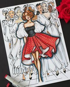 Dress Design Drawing, Dress Design Sketches, Fashion Design Sketchbook, Fashion Design Drawings, Fashion Illustration Tutorial, Fashion Drawing Tutorial, Fashion Drawing Dresses, Fashion Illustration Dresses, Fashion Model Sketch