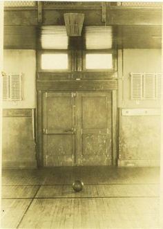 The first basketball court: Springfield College