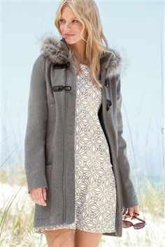 Black Premium Belted Coat | Coats | Pinterest | Coats, Shops and ...