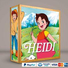 HEIDI #ColeccionCompleta DVD · BluRay · Calidad garantizada. #BoxSetDeLujo Presentación exclusiva de RetroReto. Pedidos: 0414.402.7582