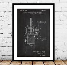 Pasta Maker Patent, Pasta Maker Poster, Pasta Maker Blueprint, Pasta Maker Print, Pasta Maker Art, Pasta Maker Decor by STANLEYprintHOUSE  3.00 USD  We use only top quality archival inks and heavyweight matte fine art papers and high end printers to produce a stunning quality print that's made to last.  Any of these posters will make a great affordable gift, or tie any room together.  Please choose between different sizes and col ..  https://www.etsy.com/ca/listing/255590604/pasta-..