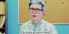 When someone asks how your semester is going. | Community Post: 19 Tyler Oakley GIF Reactions For Everyday Situations