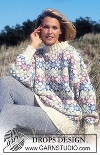 Norwegian - Free patterns catalogue by DROPS Design Page 21