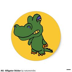 AG- Alligator Sticker