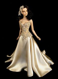 bride doll, fashion doll, From RedSilkThread
