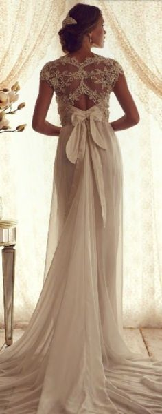 vintage wedding dress #vintage #wedding