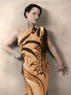 Louise Brooks color circa 1930