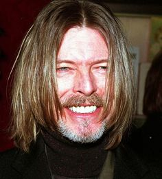 In this photo he looks like Jesus [#davidbowie#bowie]