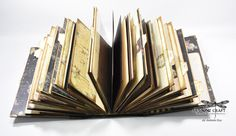A steampunk Travel Journal using the Time Traveller collection from Prima Marketing  Inc