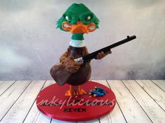"""""""A Duck's Revenge!"""" - Cake by Dinkylicious Cakes"""