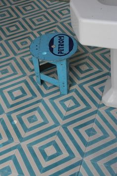 Herringbone - azure/milk - Designergolv.se - Sortiment
