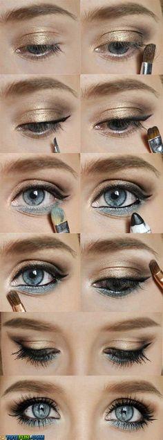 Eyeshadow For Blue Eye totifun.com