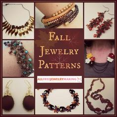 18 Fall Jewelry Patterns