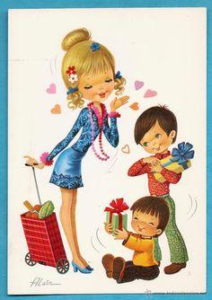 Antigua dibujo and originals on pinterest - Ilustraciones infantiles antiguas ...