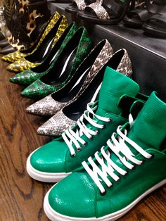 Behind the Scenes: A closer look at our SP 14 women's shoes