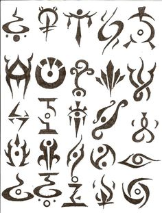 There are a massive variety of tattoos to choose from. A lot of people like cute, fun tattoos while other people get tattoos with a personal deep meaning. A lot of people like tattoo symbols to express this feeling. There are so many symbol tattoos. Cool Symbols, Unique Symbols, Magic Symbols, Symbols And Meanings, Ancient Symbols, Viking Symbols, Crazy Symbols, Earth Symbols, Alchemy Symbols