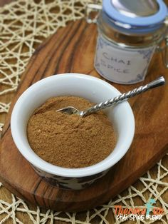 If you enjoy a good chai then you HAVE to try this Thermomix Chai Spice Blend! It is the perfect accompaniment when you want to make a good Chai dish at hom Homemade Spices, Homemade Seasonings, Spice Blends, Spice Mixes, Thermomix Desserts, Food Gifts, Other Recipes, Chai, Food Hacks