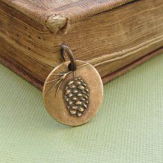 pine cone charm