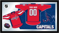 Washington Capitals NHL Jersey Mirror
