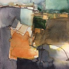 """Find out more info on """"modern abstract art painting"""". Have a look at our web site. Landscape Artwork, Abstract Landscape Painting, Abstract Painters, Watercolor Landscape, Abstract Watercolor, Abstract Art, Galerie Saatchi, Watercolor Artists, Abstract Photography"""