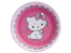 Hello Kitty 8ks talíř 18 cm | BALONKY .CZ