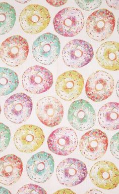 Donut Wallpaper From Typo