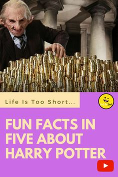 Fun Facts In Five About Harry Potter Weird Gif, Life Is Short, Fun Facts, I Am Awesome, Harry Potter, Humor, Youtube, Humour, Moon Moon